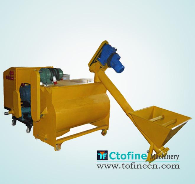 Foam concrete mixer production line - Henan Tofine machinery